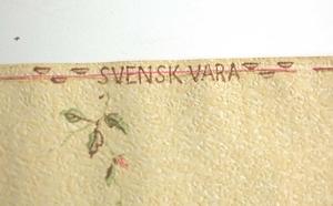 Original tapet nr A6127