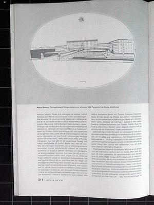ARKITEKTUR 1959/10 Stockholms slott, Nicodemus Tessin dy.