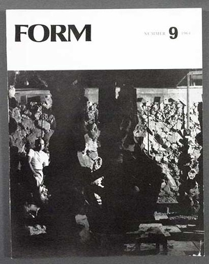 FORM 1964/9 USA New York MoMA Museum of Modern Art, Japan, Triennal i Milano, design, Lena Larsson